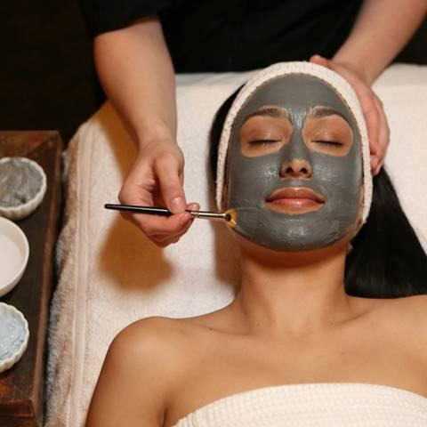 A facial is a great way to relax and look good afterwards.