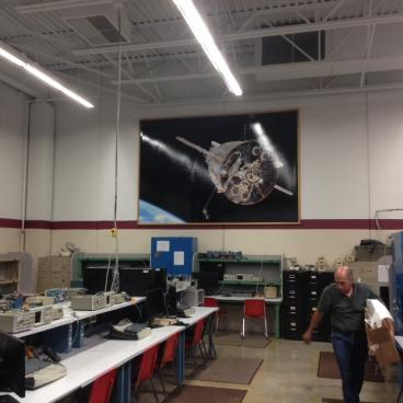 Wall Mural - Hennepin Tech, Brooklyn Center. MN - Minneapolis