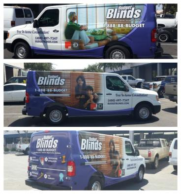 VEHICLE WRAP- FULL COVERAGE