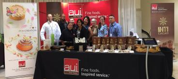 Trade Show Booth for AUI Fine Foods
