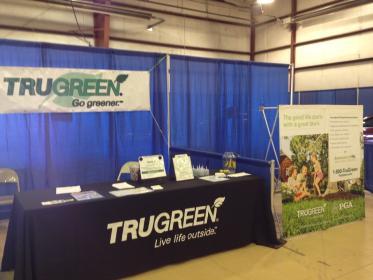 TruGreen Booth At WyoBraska Fair