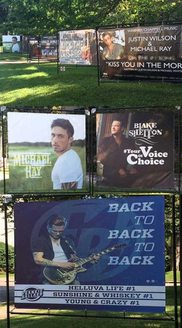 Banners  Music Row Nashville