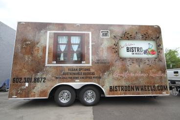 Vehicle Wrap for Food Truck