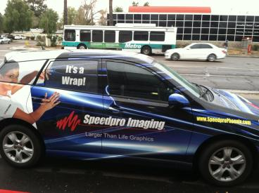 Official Speedpro Imaging of Phoenix Wrapped Car