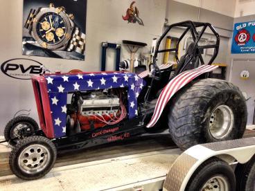 Custom tractor wrap
