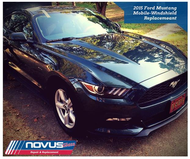 Windshield Replacement, Mobile - 2015 Ford Mustang