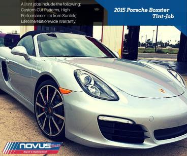 Tint Job - 2015 Porsche Boxster Thumbnail
