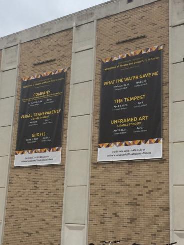 WCU - 10' x 12' Outdoor Mesh Banners