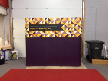 West Chester University - 3x3 Pop-up Display