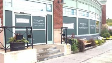 Wellesley Bank Storefront Window Graphics