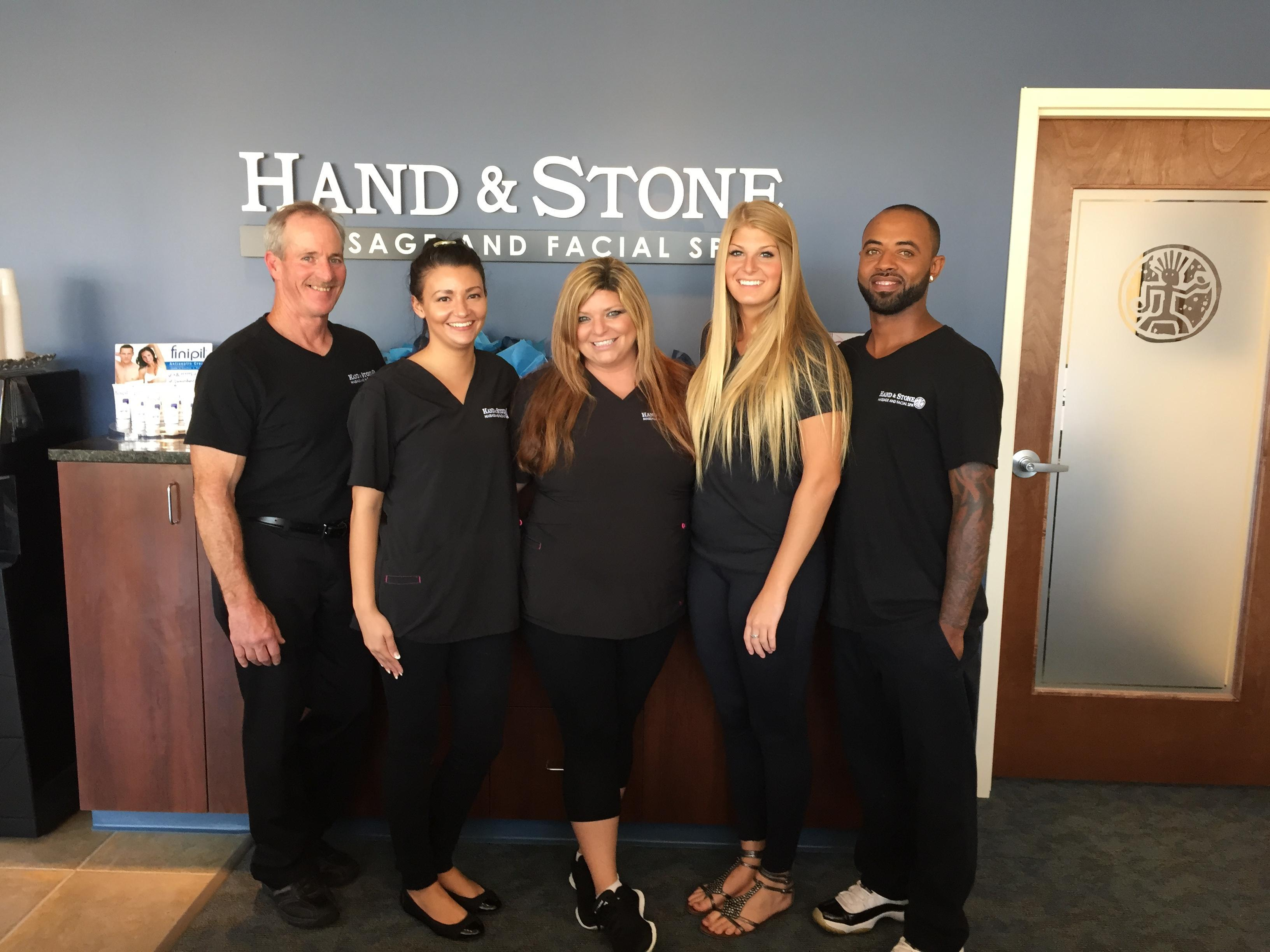 Your Friendly Hand & Stone Team