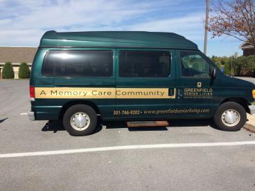 Vehicle Graphic for Greenfield Senior Living