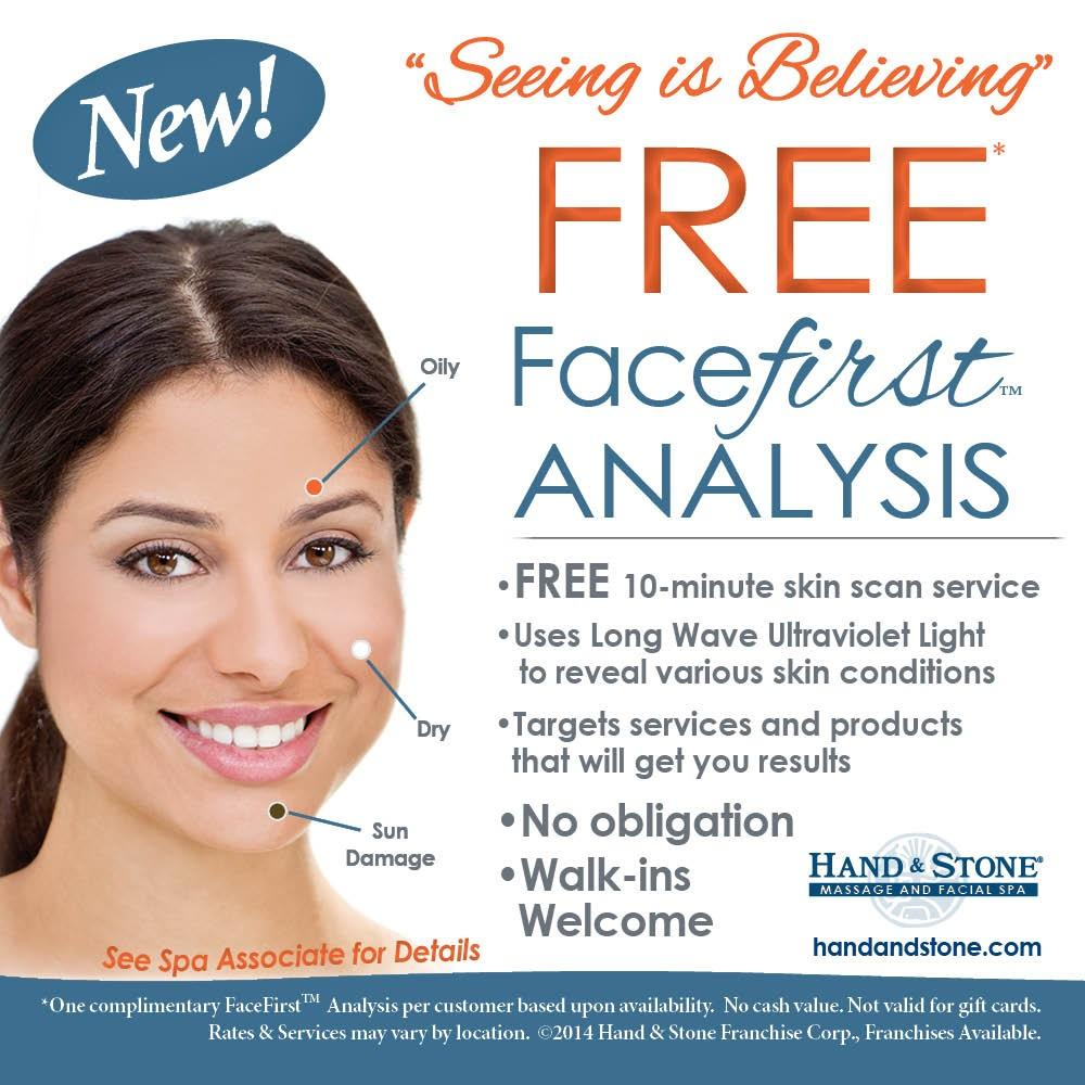Complimentary Facefirst Skin Analysis