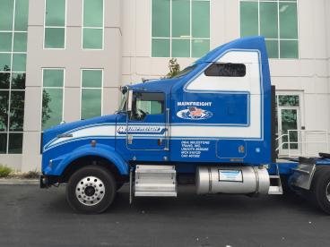 More Truck Graphics for Mainfreight USA