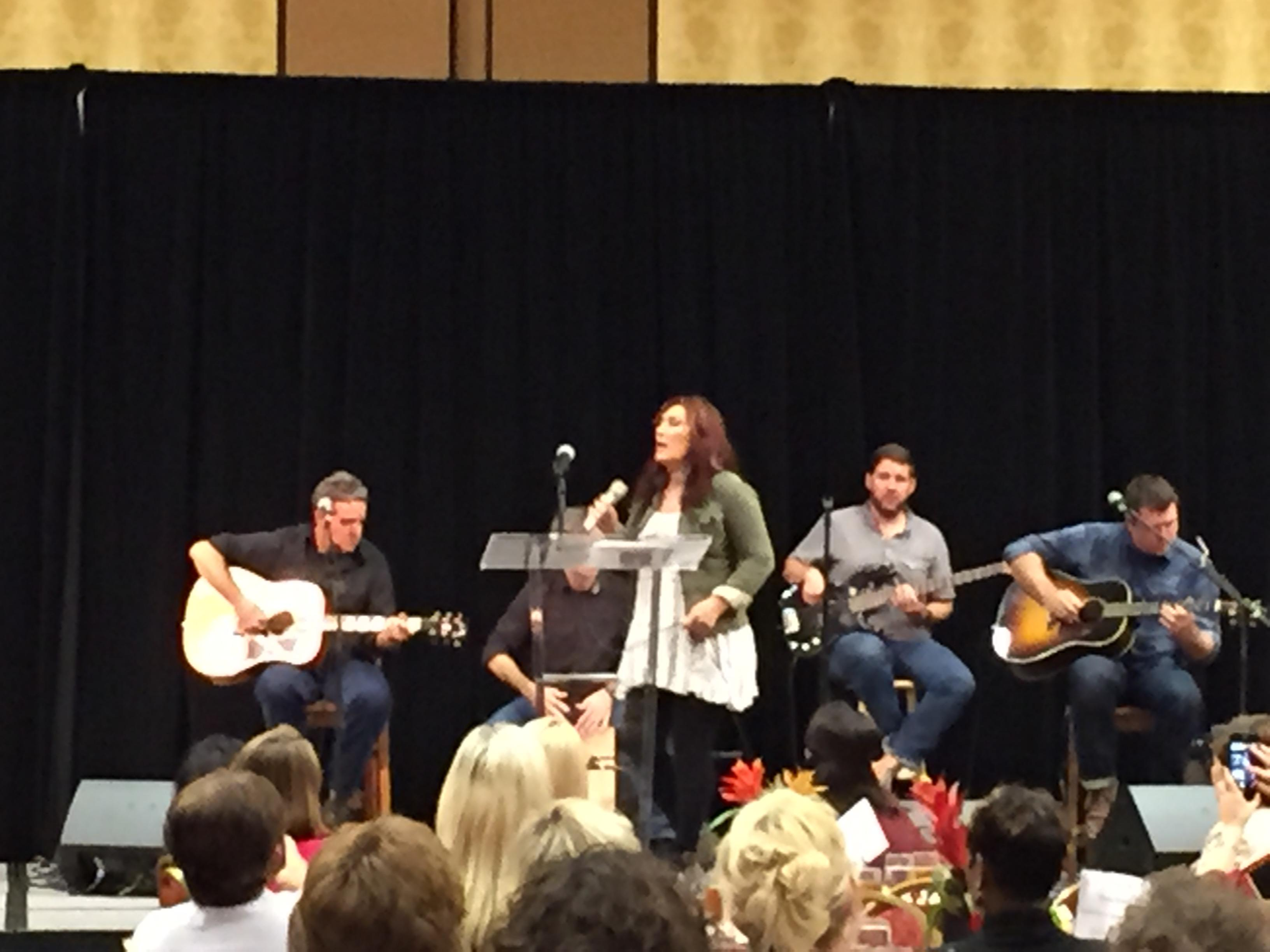 #jodeemessina at #2015lcg at the Embassy Suites