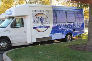 Church Bus Wrap