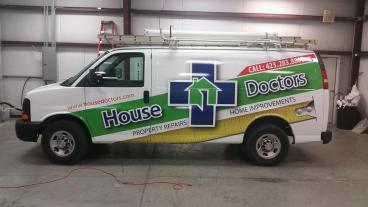 House Doctors Van Wrap