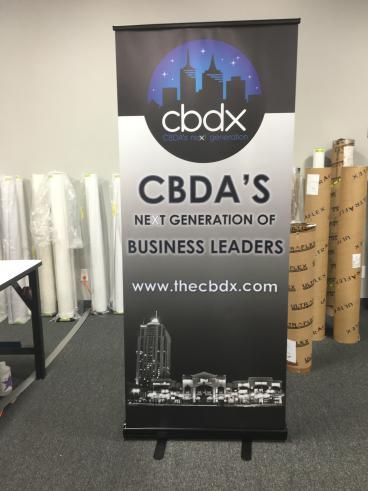CBDX Retractable Banner Stand