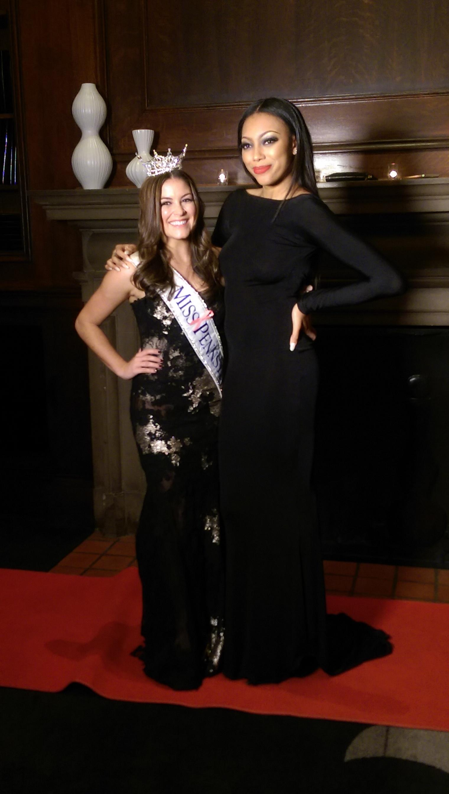 Miss PA, Ashley Schmider and America's next top Model winner, Bianca Golden