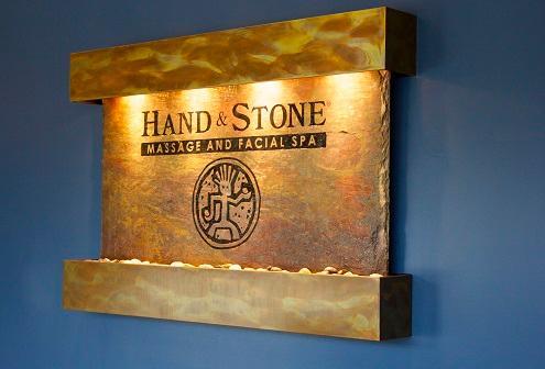 Hand & Stone Waterwall