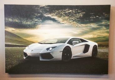 Lamborghini Aventador Canvas