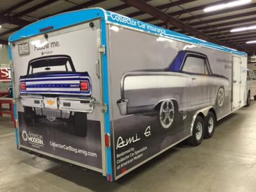 American Modern Insurance Trailer Graphics