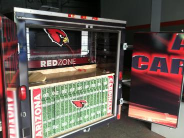 Arizona Cardinals Wrapped Trailer