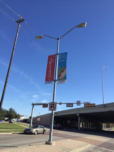 Santas Village Street Banners
