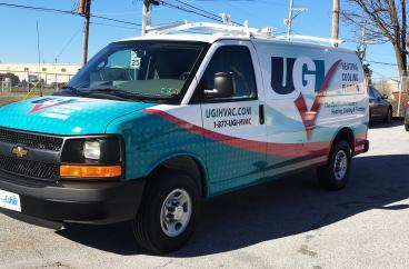 UGI Chevy Express Full Wrap
