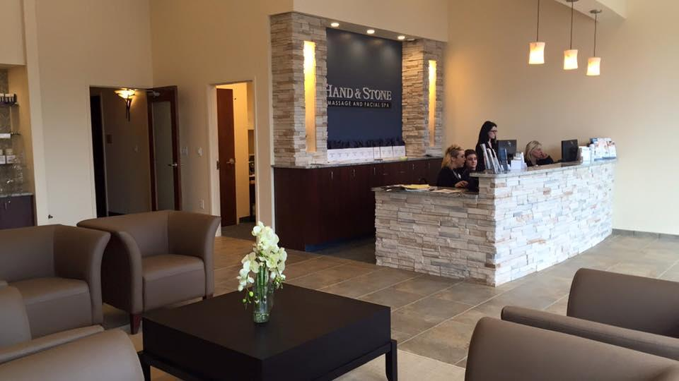 Hand and Stone Massage and Facial Spa, Clay Terrace. Carmel, IN.