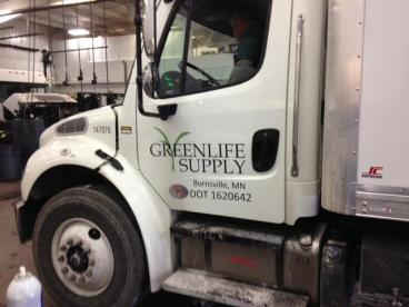 Greenlife Supply Vehicle Graphics