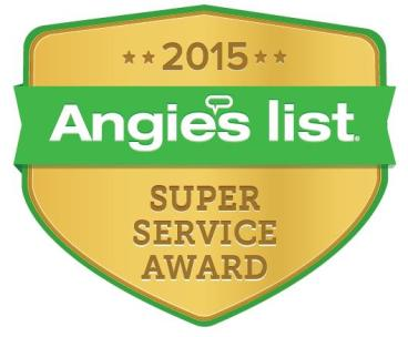 Super Service Award Winner 2015