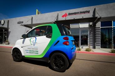 Smart Car Full Vehicle Wrap