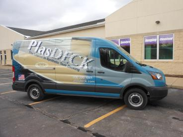 PlasDeck / Plasteak Vehicle Wrap
