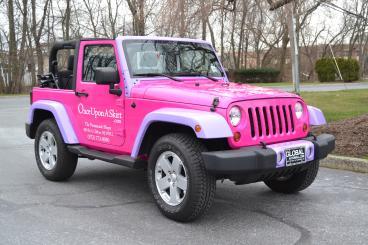 Barbie Jeep Wrap
