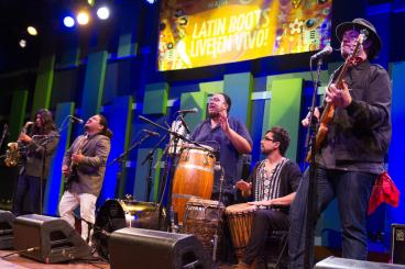 Latin Roots Banner at World Cafe Live