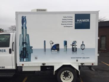 Truck Wrap - Haimer USA, Villa Park