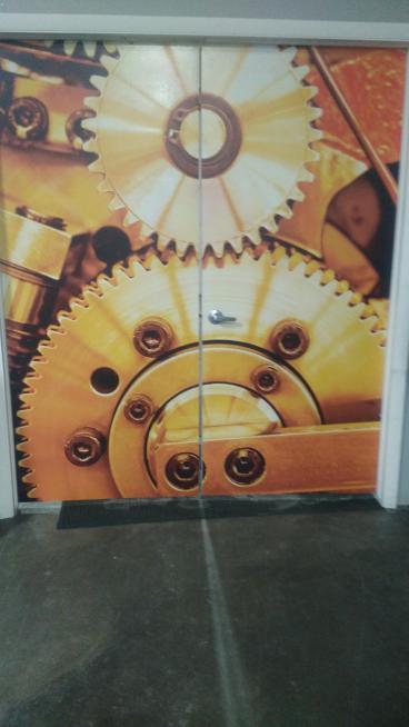 Digital Printing: Direct Print to Doors