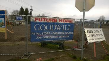 Goodwill - Mesh Fence Banner