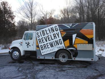 Sibling Revelry Brewing - Vehicle Wrap