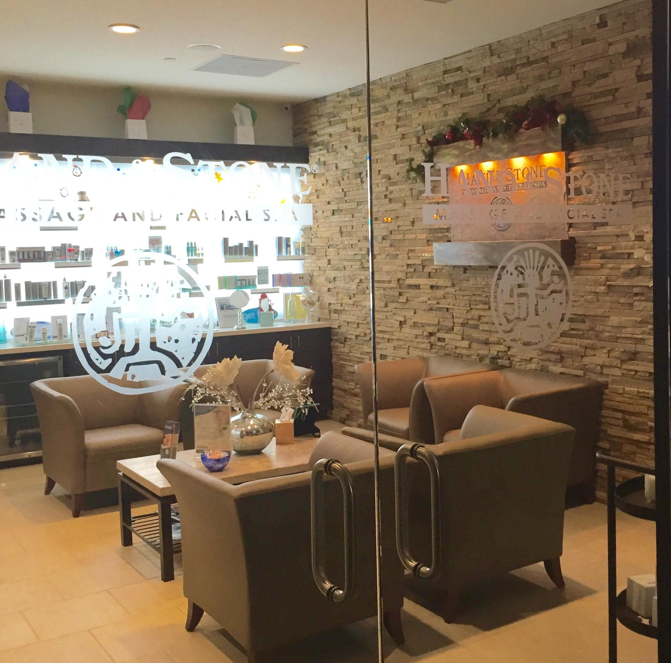 Wait for your next massage or facial in our newly renovated lobby!