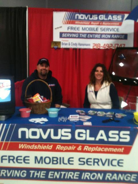 Owners of Novus Glass of Grand Rapids, MN