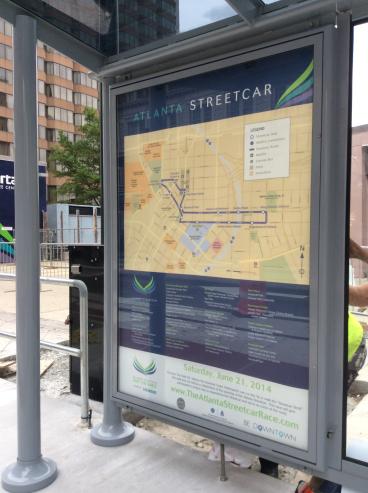 Streetcar signage