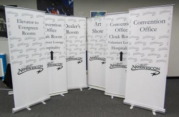 New Retractable Banner Graphics
