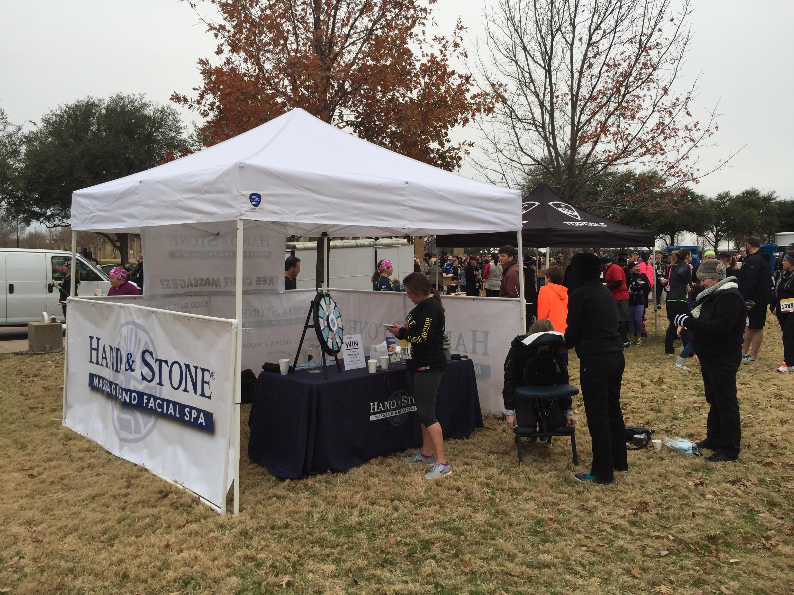 Sponsoring the Hot Cake Hustle 5K in Addison Circle