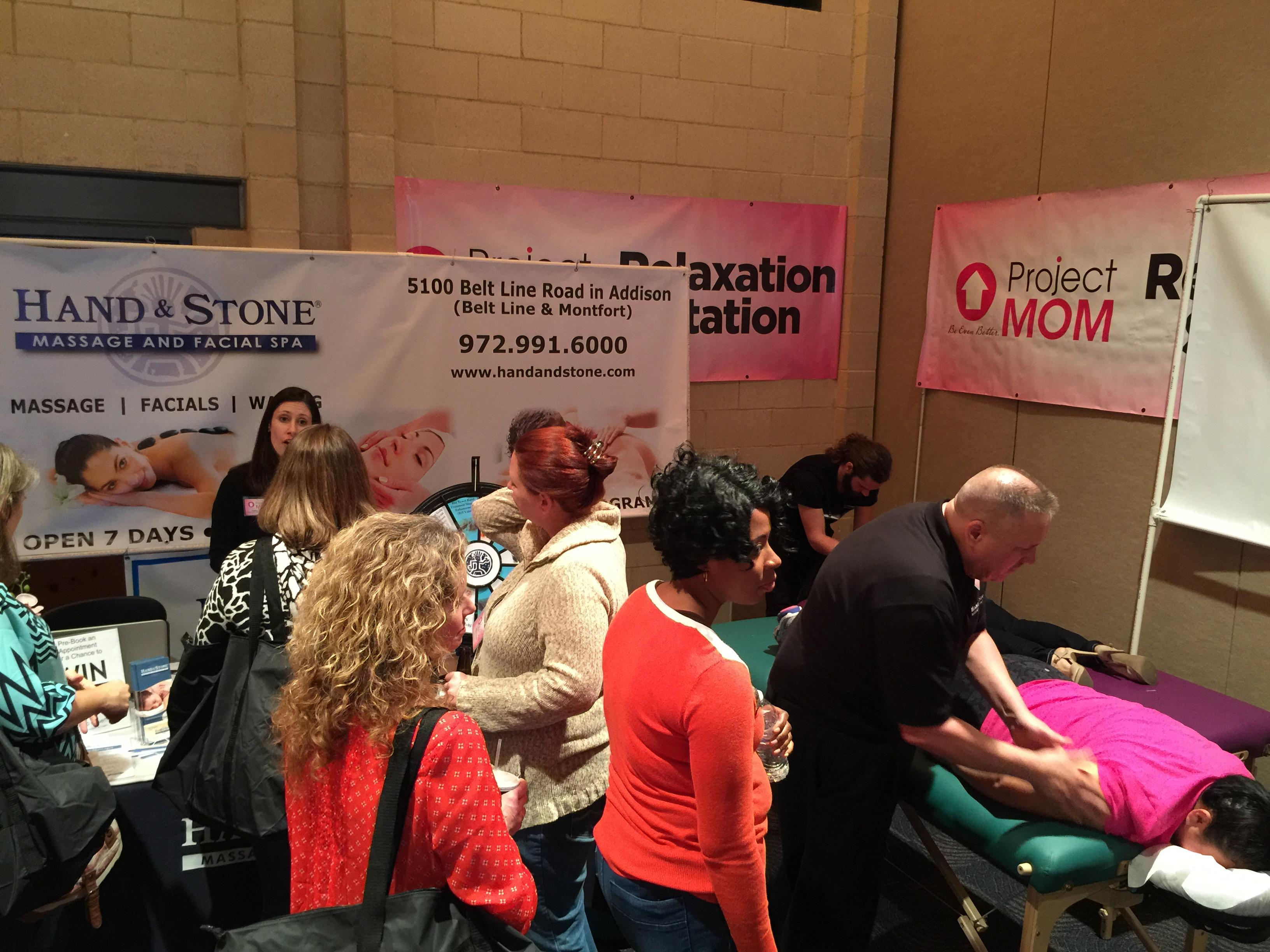 Sponsoring Project Mom at the Addison Conference Center
