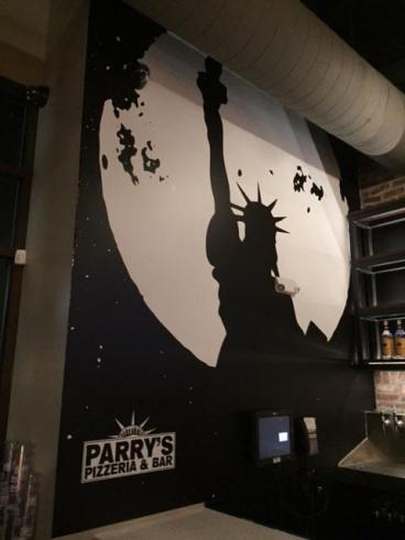 Wall Mural: Parry's Pizza