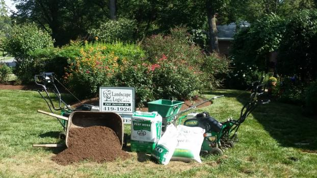 ... A Recent Lawn Seeding Companies Job In The Area ...