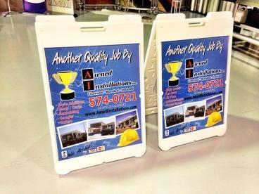 Award Installation Inc. A-Frames