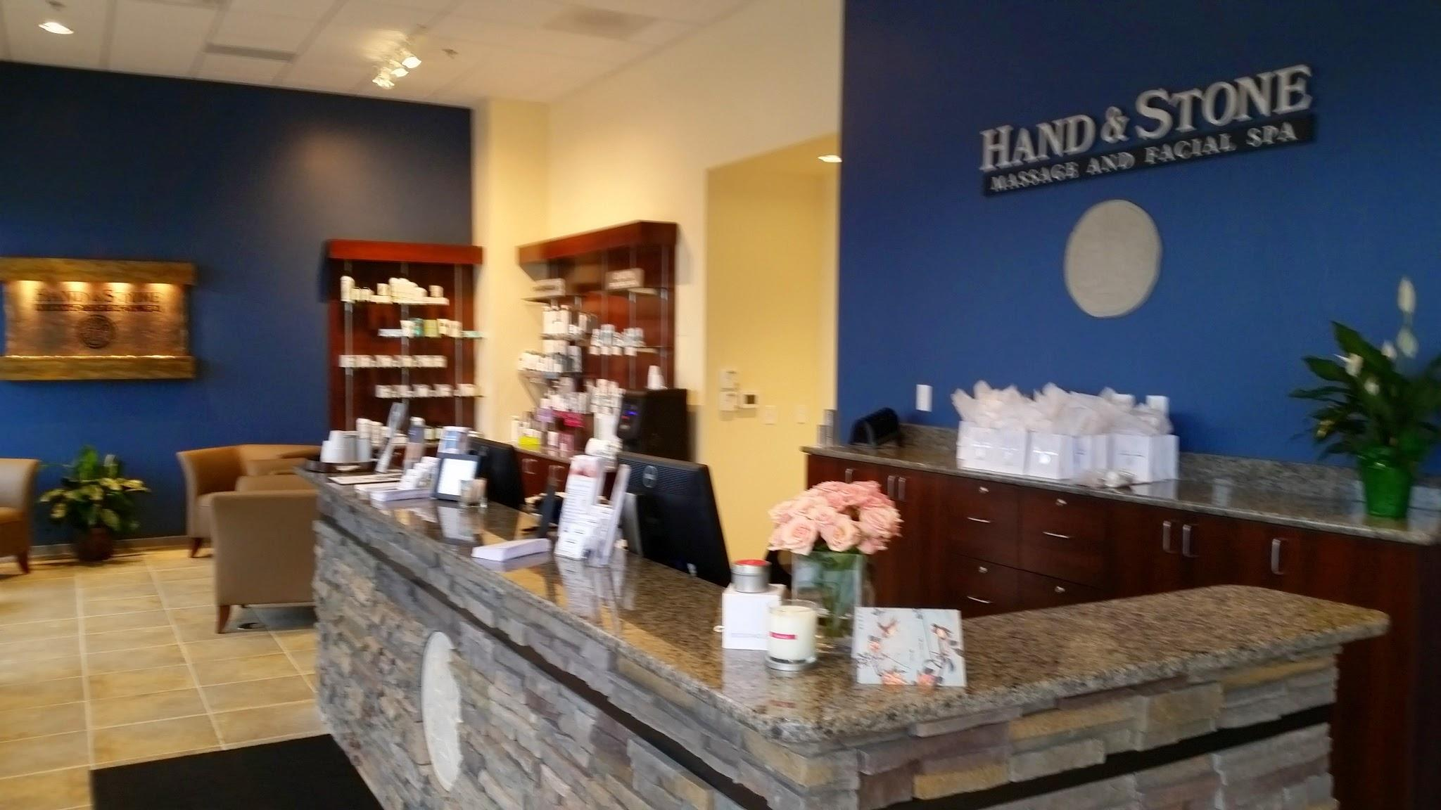 Welcome to Hand & Stone Lobby